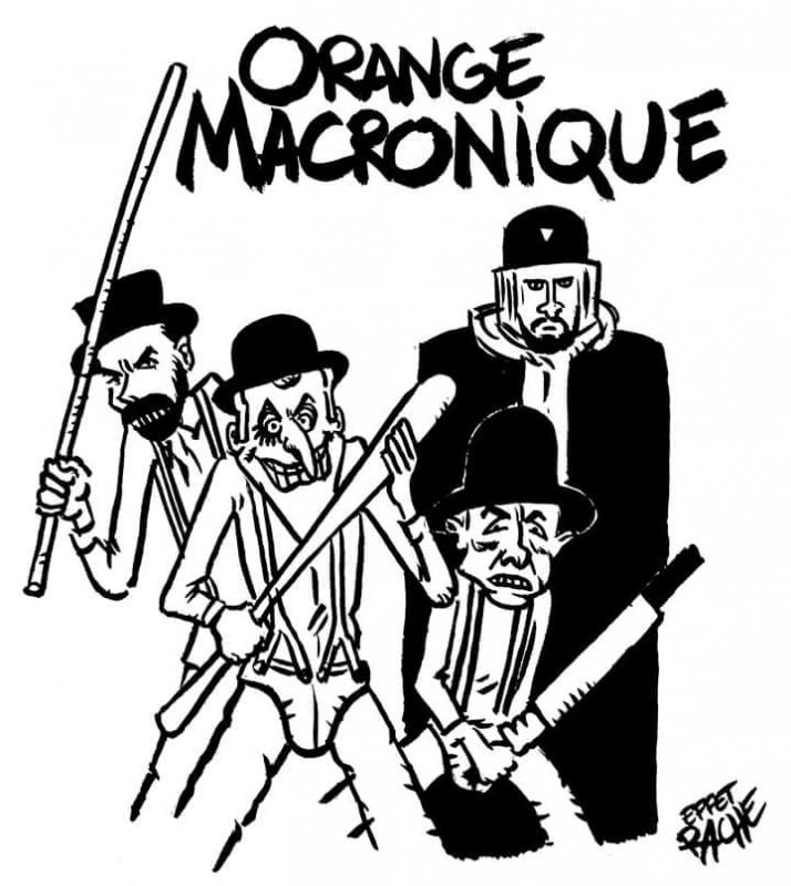 Orange macronique